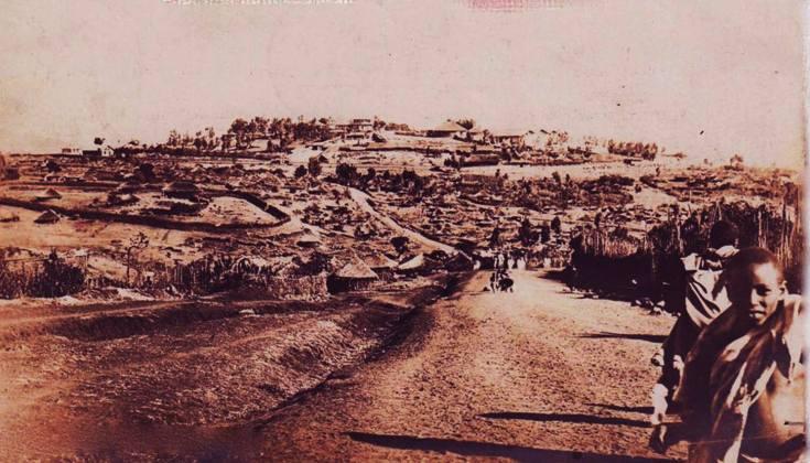 መሐል አራዳ (Piazza) 1897